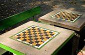Hoe te repareren van een gebroken beton picknicktafel