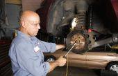 Hoe te verwijderen van de voorste schijfrem Rotor van een 1995 Honda Accord LX