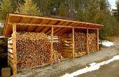 How to Build een loods met een schuin dak