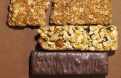 Eiwit Bars die laag in de sector suiker