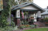 Craftsman stijl huizen te versieren