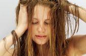 Tips voor het houden van uw haar niet knoestige 's nachts