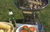 Hoe maak je een windscherm voor een Gas barbecue