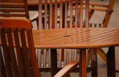 Hoe schoon Wax opbouw op een eetkamer tafel