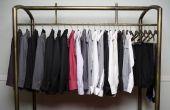 Creatieve kleding opslag ideeën