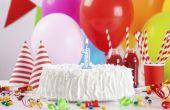 Hoe maak je slagroom Icing voor verjaardagstaarten