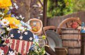 DIY houten tuin decoraties