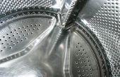 Roest verwijderen uit een Tub wasmachine
