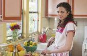 Hoe diep een keuken schoon