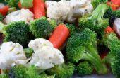 Hoe bewaart u verse Broccoli & bloemkool