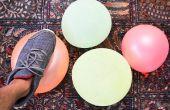 Hoe maak je een daling van de ballon