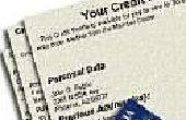 Hoe te verwijderen een negatieve handel-lijn van uw kredietrapport