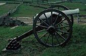 Hoe maak je een miniatuur Civil War Cannon