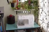 Hoe te organiseren voor het naaien in 9 vierkante voet