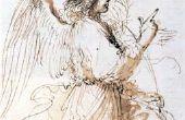 Hoe maak je papier Mache engelen