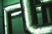 Hoe te isoleren van leidingen voor het Water van stacaravan