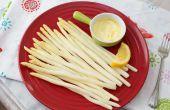 Hoe om te koken met witte asperges