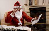 Hoe het schrijven van een overtuigende brief aan de Kerstman