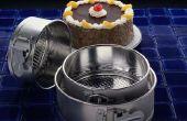 Wat Metal Is goed voor het bakken van kaastaart In?