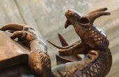How to Make Cosplay Dragon hoorns