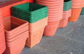 DIY lichtgewicht betonnen plantenbak