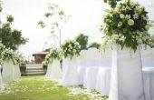 Hoe u bloemen koppelt aan een stoel voor een bruiloft