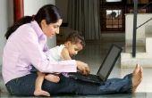 Opvoeding van autistische kinderen als een Single moeder