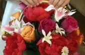 Het behouden van bloemen thuis