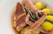 Hoe te bevriezen van zeevruchten soep
