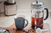 Hoe maak je Franse pers koffie