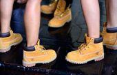 Hoe schoon Timberland laarzen met huishoudelijke materialen
