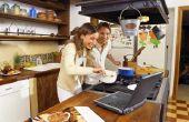 Hoe schoon een keuken hulp Cooktop