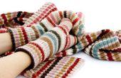 How to Block een gebreide sjaal