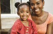 How to Grow de randen van de Afro-Amerikaanse kinderen haar