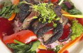 Wat te koken voor avondmaal met overgebleven rundvlees BBQ