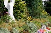 Hoe Plant een tuin van gebed