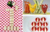 Voedsel ideeën voor een 1ste verjaardagsfeest
