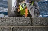 Hoe te repareren van een trap stap barst in de muur van een blok