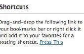 """Hoe Post klemmen van het Web naar een Wordpress Blog rechtstreeks met een """"Pers dit"""" knop"""