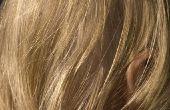 Behandeling van witte haren