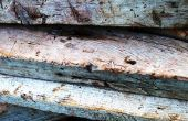 Hoe om te wikkelen van een houten balk