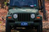 Hoe te verwijderen van de Jeep deuren met elektrische ramen
