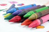 Crayon verwijderen uit kleding al gedroogd in een droger