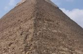 Hoe maak je een piramides van Giza Model