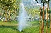 Het instellen van de Timer voor Toro Sprinkler systemen