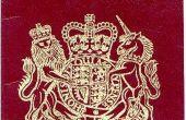 Verenigd Koninkrijk paspoort eisen