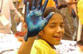 Crayola afwasbare verf giftig is indien ingeslikt?
