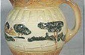 Het verwijderen van vlekken van Vintage porseleinen aardewerk en kunst glas