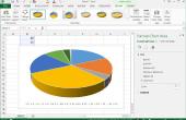 Hoe een cirkeldiagram maken in Excel