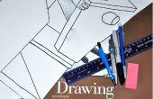 Hoe teken je wetenschappelijk materiaal